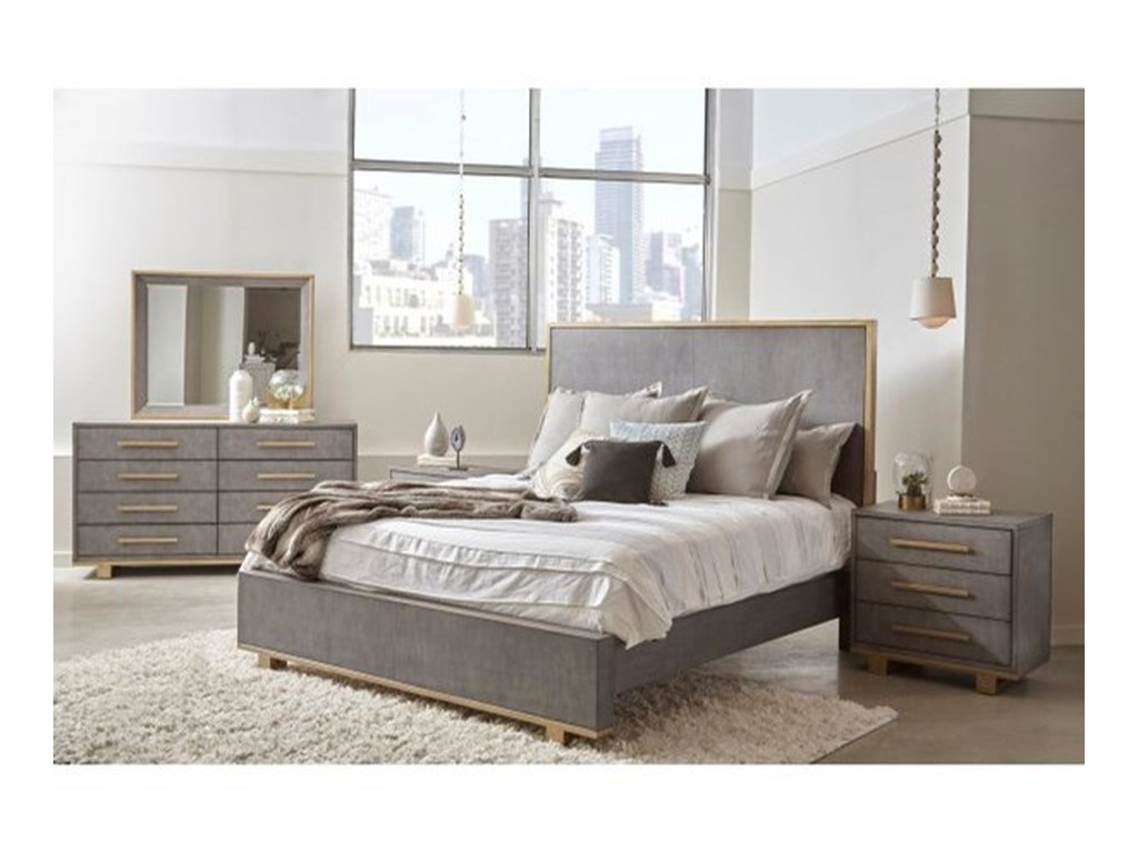 Pulaski Furniture CarmenQueen Panel Bed