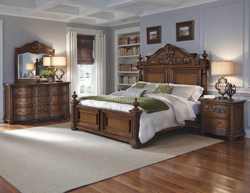 Pulaski Furniture Cheswick California King Bedroom Group