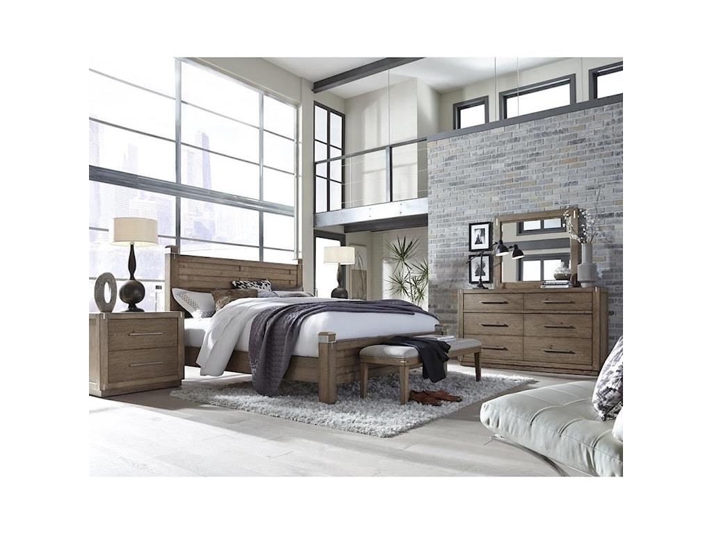 Pulaski Furniture Corridor 16Queen Bedroom Group