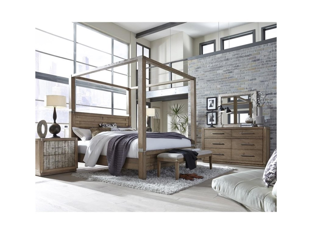 Pulaski Furniture Corridor 16Queen Canopy Bed