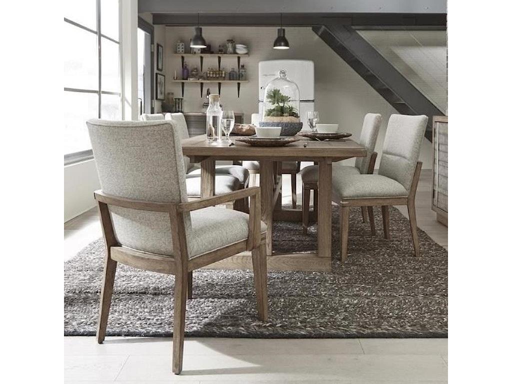 Pulaski Furniture Corridor 167-Piece Table and Chair Set