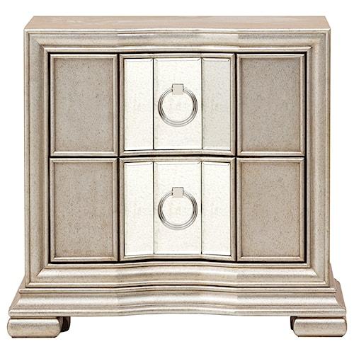 Pulaski Furniture Couture Glam 2 Drawer Nightstand