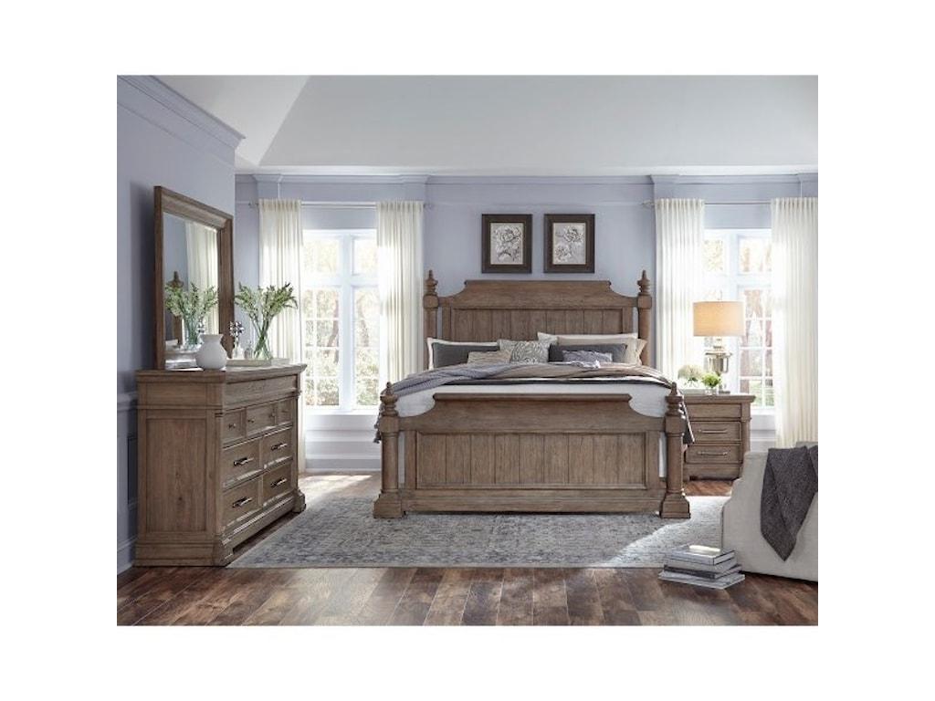 Pulaski Furniture CrestmontKing Bedroom Group