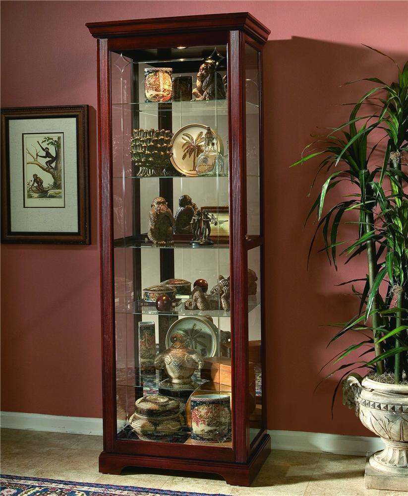 pulaski furniture curios twoway sliding door curio