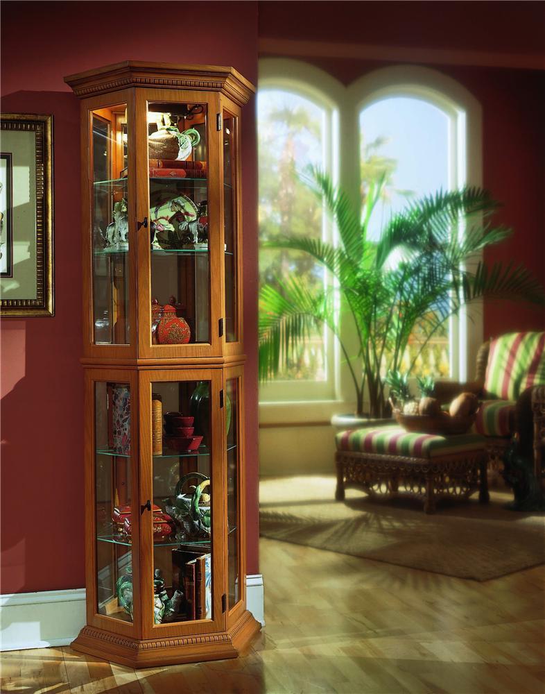 Pulaski Furniture Curios English Oak II Curio