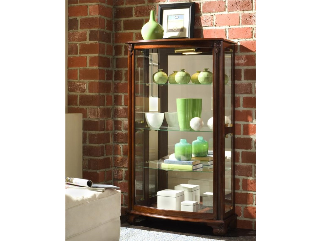 Curios Gallery Mantel Curio by Pulaski Furniture at Miller Home