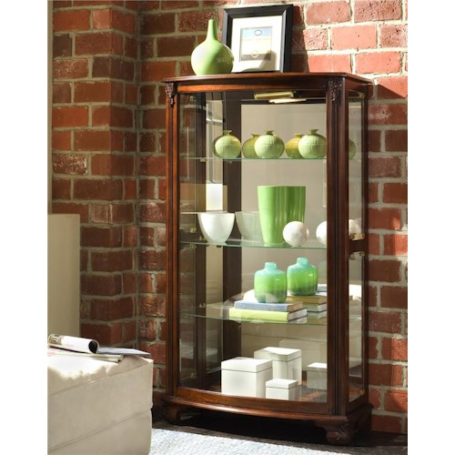 Pulaski Furniture Curios Gallery Mantel Curio