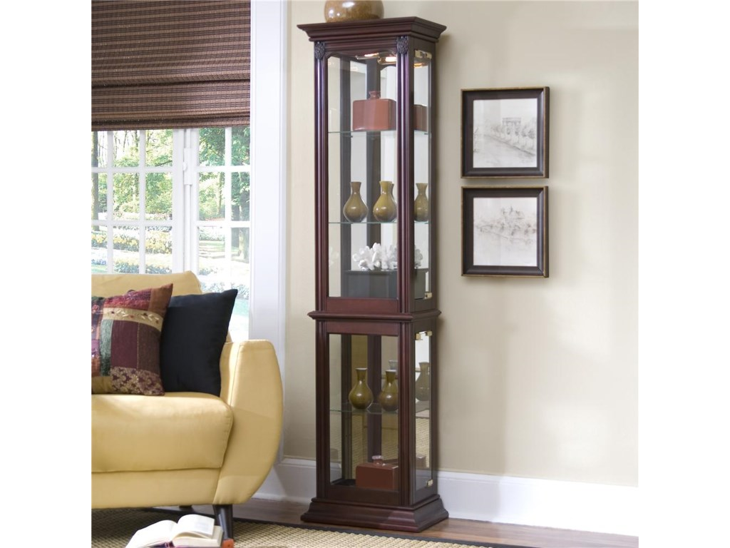 Curios Curio Cabinet By Pulaski Furniture At Miskelly Furniture