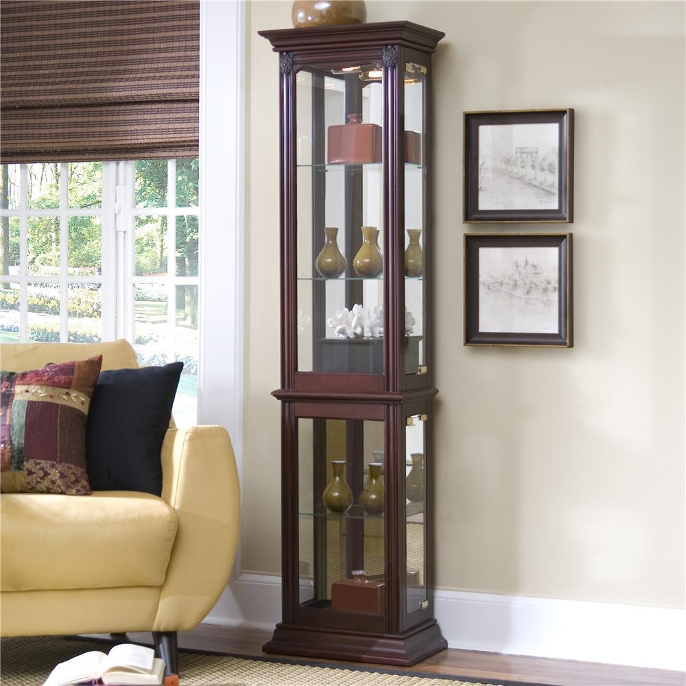 Pulaski Furniture Curios Curio Cabinet   Sheelyu0027s Furniture U0026 Appliance    Curio Cabinet