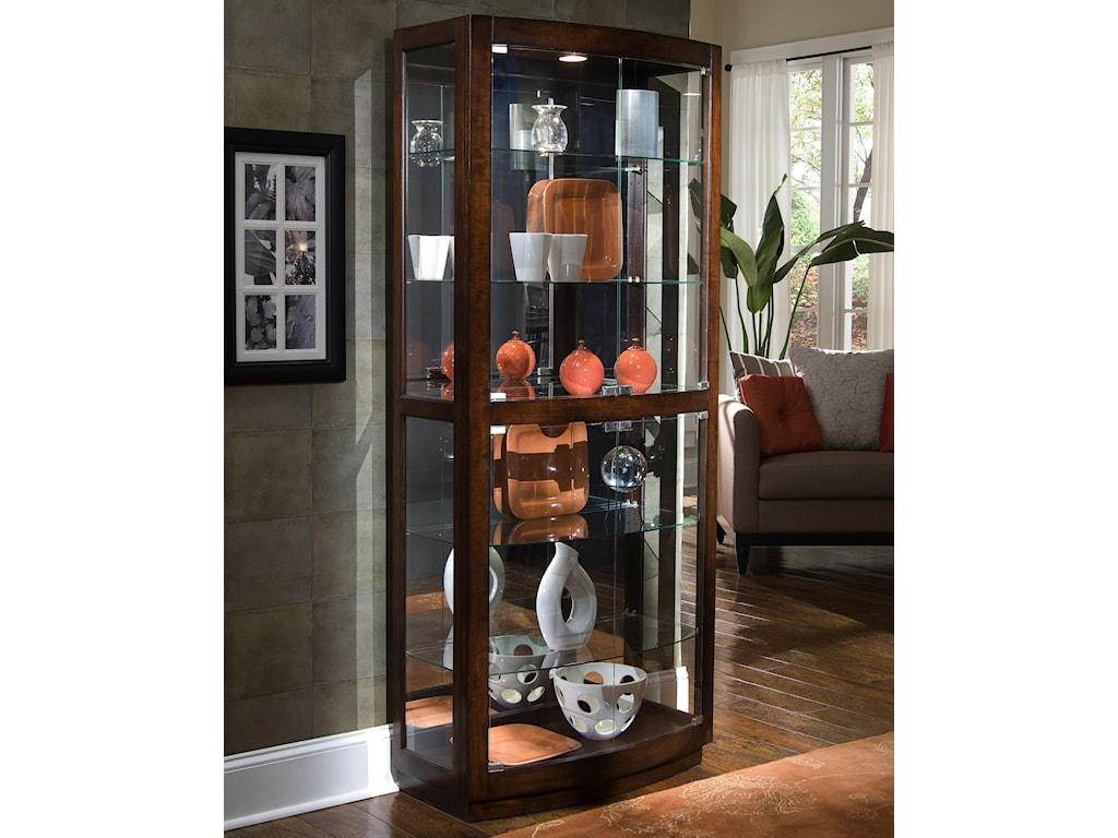 Pulaski Furniture CuriosPacific Heights Curio Cabinet