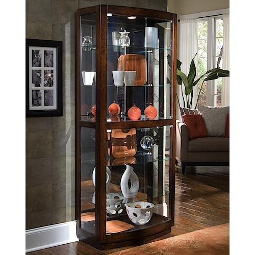 Pulaski Furniture Curios Pacific Heights Curio Cabinet