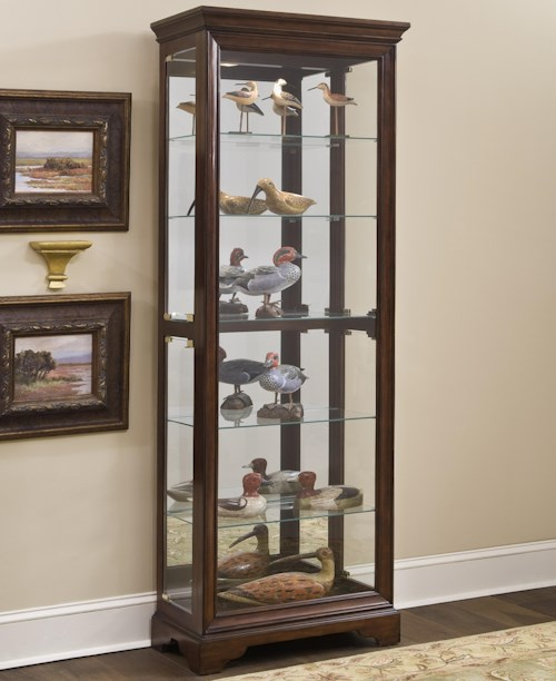 Ski Furniture Curios Gallery Curio Cabinet