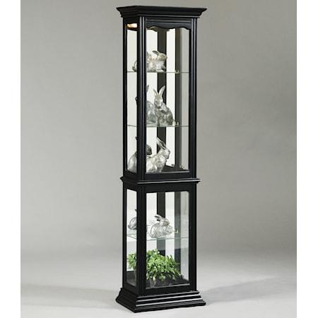 Oxford Black Curio Cabinet
