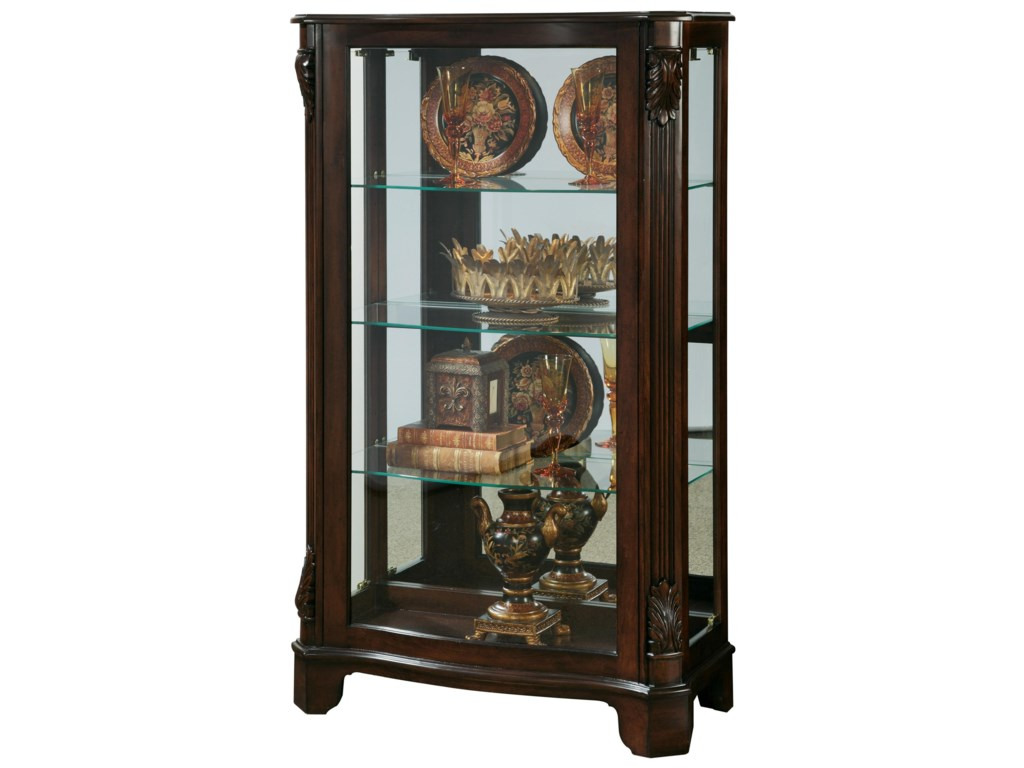 Pulaski Furniture CuriosSide Entry Mantel Curio