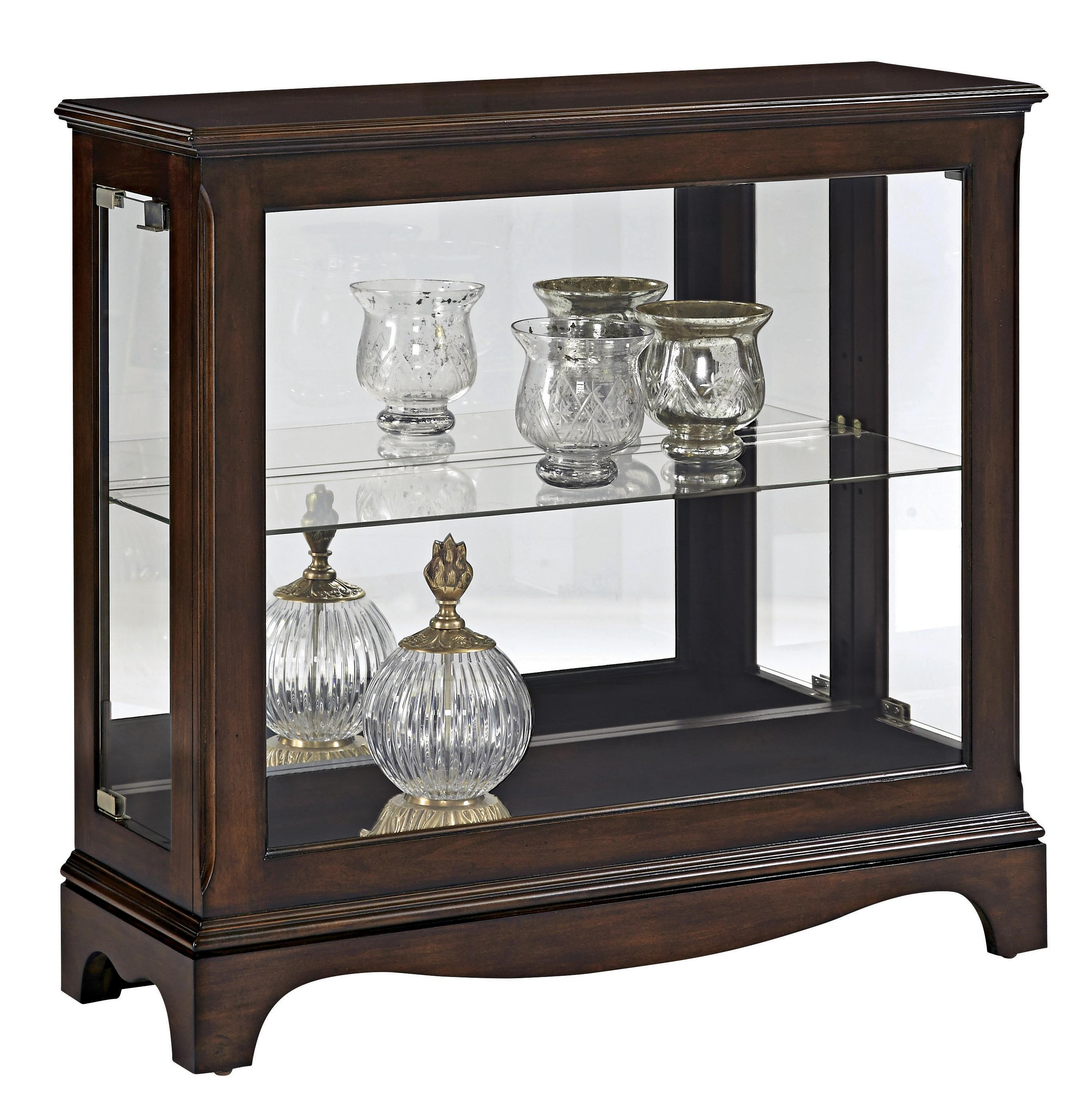 Pulaski Furniture Curios Petite Display Console - Lindy's ...