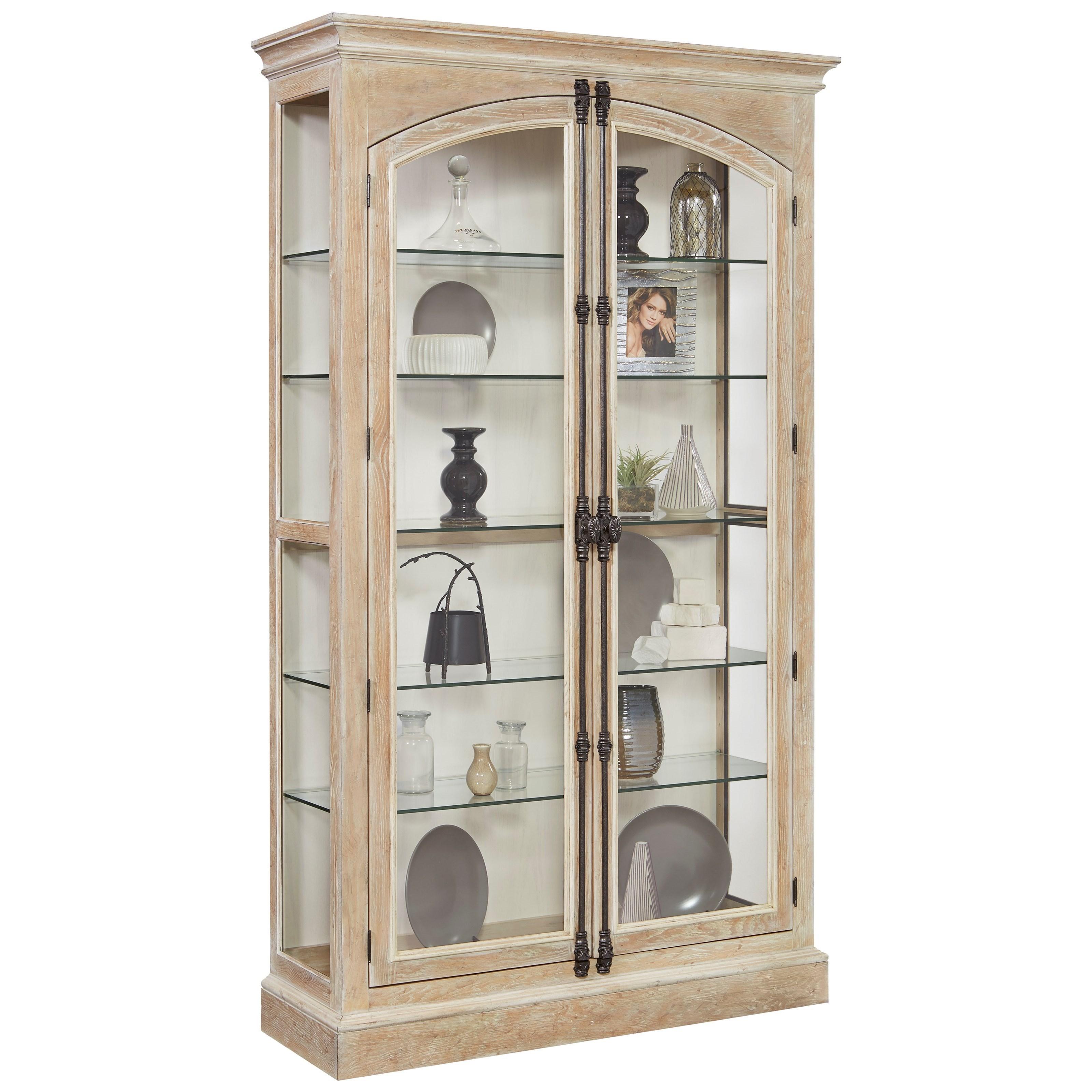 Superbe Pulaski Furniture Curios Door Curio With Cremone Bolt Door Hardware