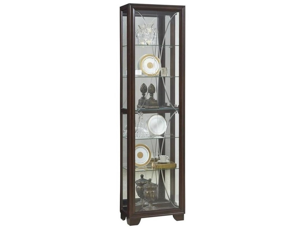 Pulaski Furniture CuriosSingle Side Entry Curio