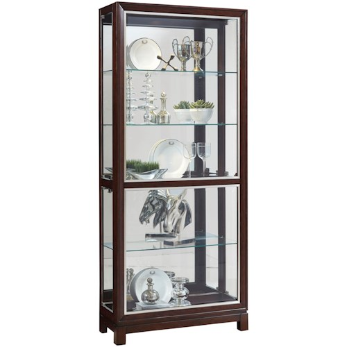 Pulaski Furniture Curios Side Entry Curio with Touch Lighting