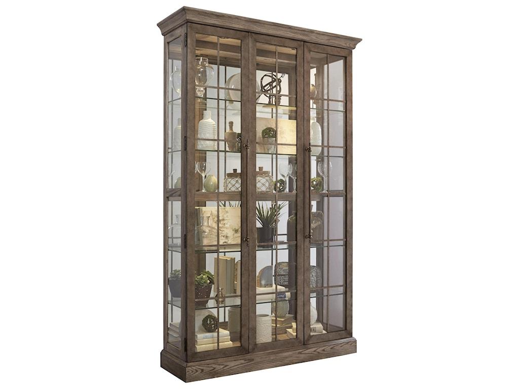 Pulaski Furniture CuriosMetal Pane Door Curio
