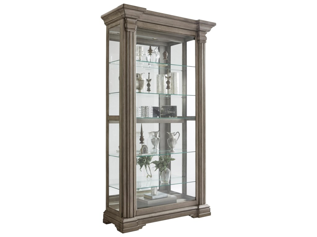 Pulaski Furniture CuriosSliding Door Curio