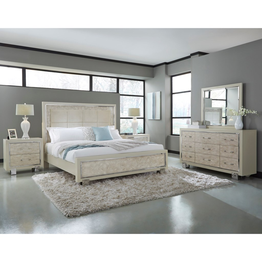 Pulaski furniture cydneyqueen bedroom group bed shown may not represent exact size indicated