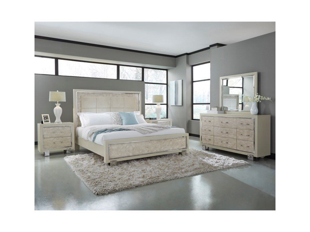 Pulaski Furniture CydneyQueen Bedroom Group