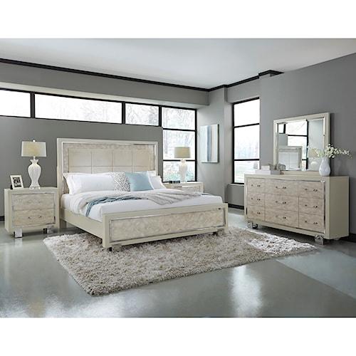 Pulaski Furniture Cydney Queen Bedroom Group