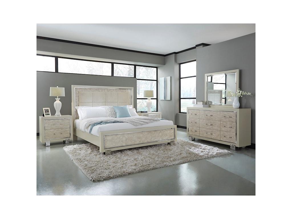 Pulaski Furniture CydneyDresser and Mirror Combo