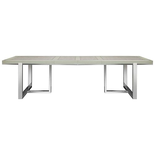 Pulaski Furniture Cydney Dining Table with Metal Base