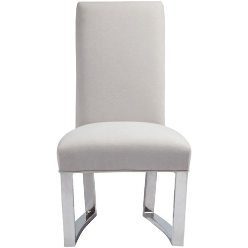 Pulaski Furniture Cydney Upholstered Metal Side Chair