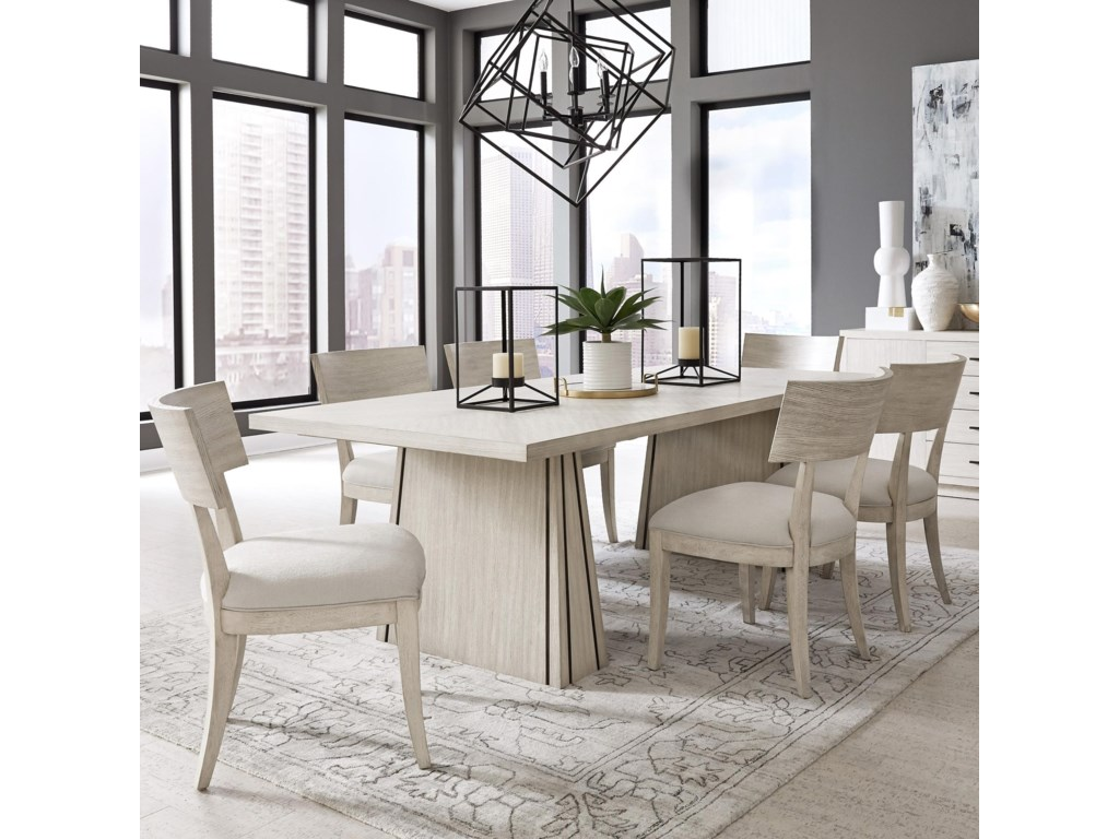 Pulaski Furniture District 3Table and Chair Set