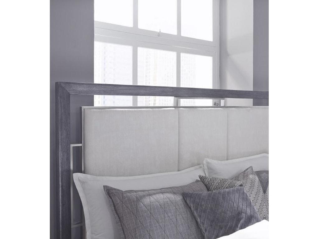 Pulaski Furniture EchoQueen Upholstered Bed