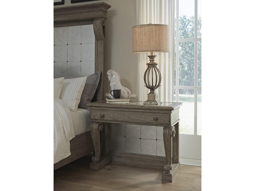 Pulaski Furniture EllaBedside Table