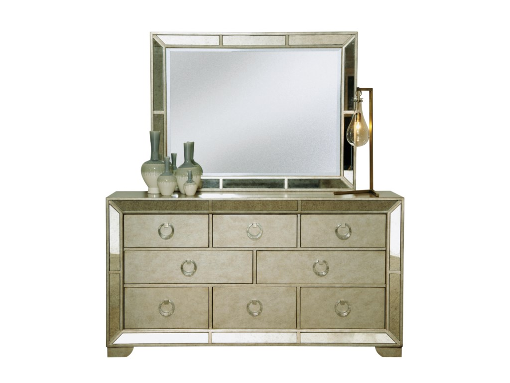 Pulaski Furniture FarrahDresser & Mirror Set