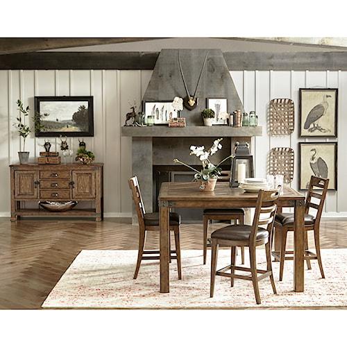 Pulaski Furniture Heartland Falls Casual Dining Room Group