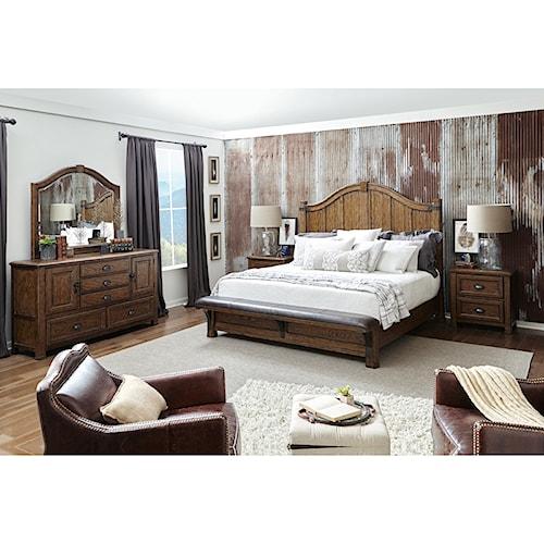 Pulaski Furniture Heartland Falls King Bedroom Group