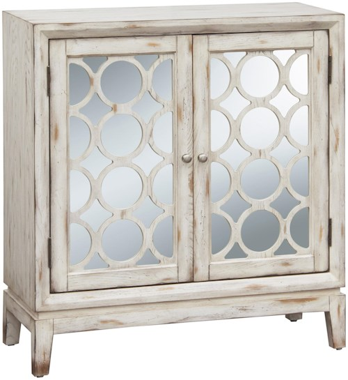 Pulaski Furniture Accents Quinn Hall Chest with Wood Grilles