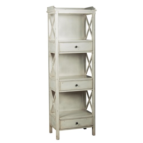 Pulaski Furniture Accents Cadence Bookcase With Drawers Story Lee Furniture Bookcase 2