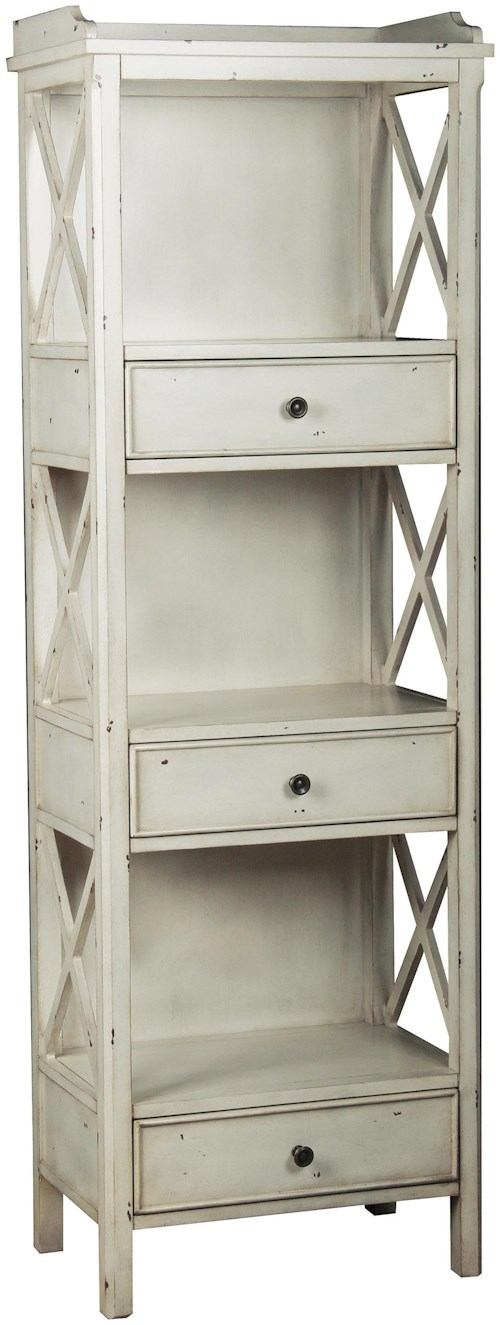 Pulaski Furniture Accents Cadence Bookcase with Drawers