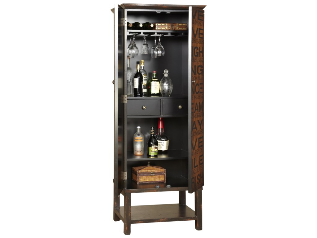 Accentrics Home Bars and Bar StorageWine Cabinet