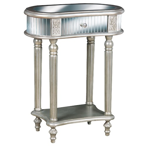 Pulaski Furniture Accents Sydney table with Mirror Drawer