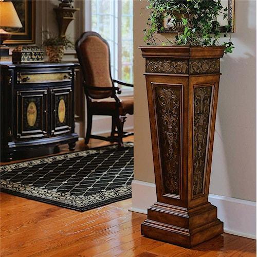 Pulaski Furniture Accents Nugget Pedestal