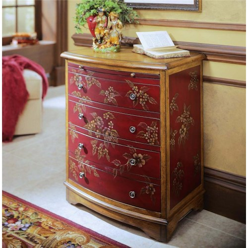Pulaski furniture accents ds 599220 accent chest for Furniture 500 companies