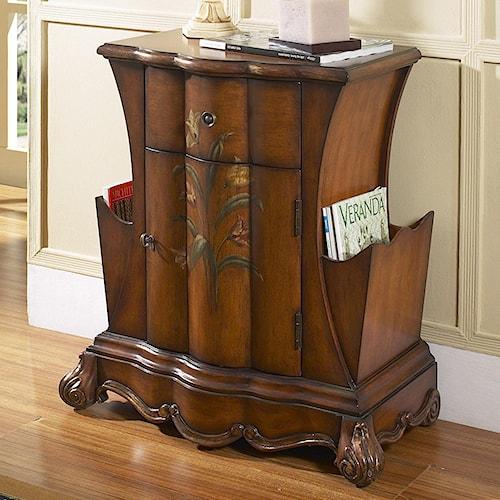 Pulaski Furniture Accents Accent Chest with Magazine Storage