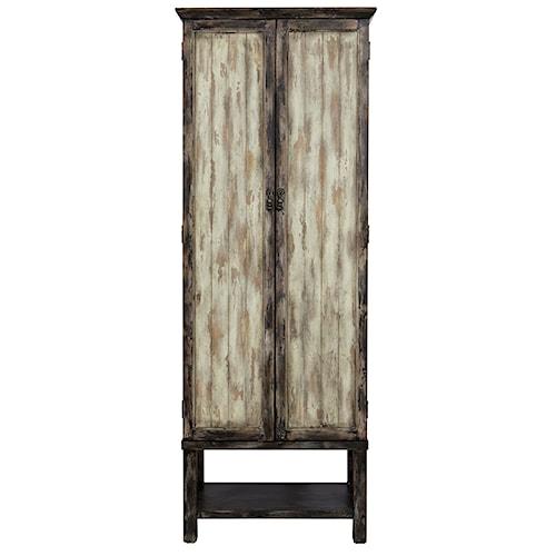 Pulaski Furniture Accents Tall Rutledge Pantry Cabinet