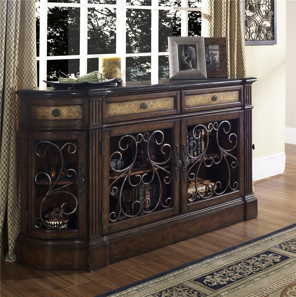 pulaski furniture accents carmel credenza