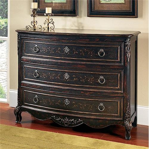 Pulaski Furniture Accents Versailles Black Drawer Chest