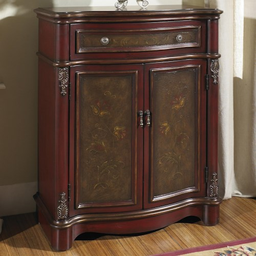 Pulaski Furniture Accents Painted Accent Chest with Doors