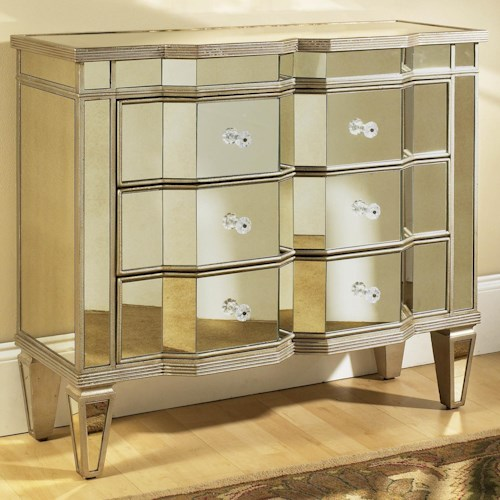 Pulaski Furniture Accents Mirrored Accent Chest