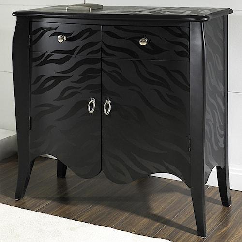 Pulaski Furniture Accents Black Tiger Accent Chest
